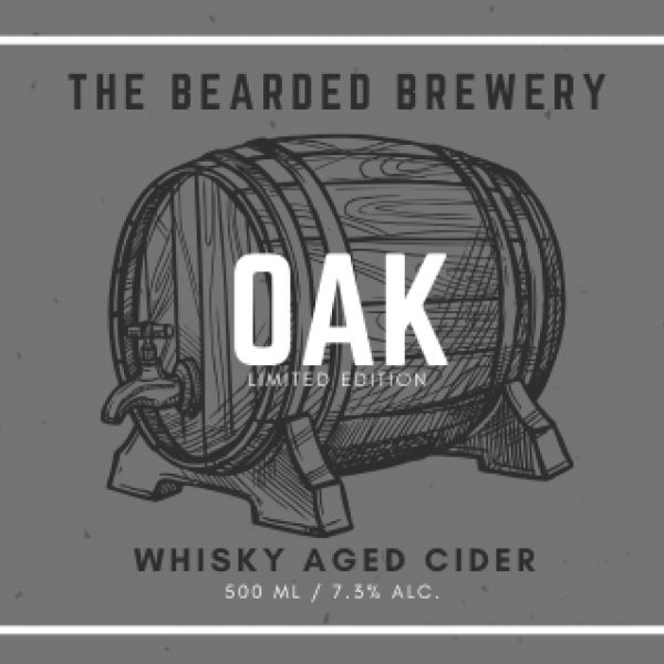 OAK, Whiskey Aged Cider